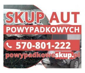 Skup uszkodzonych aut - Skup samochodów uszkodzonych,aut niekompletnych